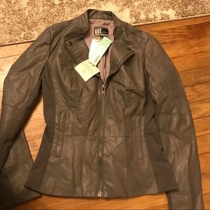 NWT Kut from the Kloth Vegan Leather Jacket